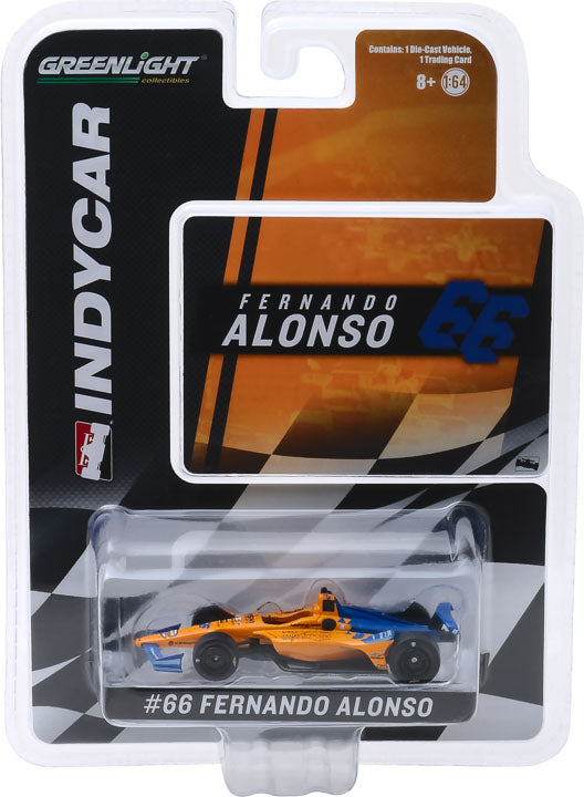 GreenLight 1/64 2019 #66 Fernando Alonso / McLaren Racing, Dell Technologies Mindmaze #10845