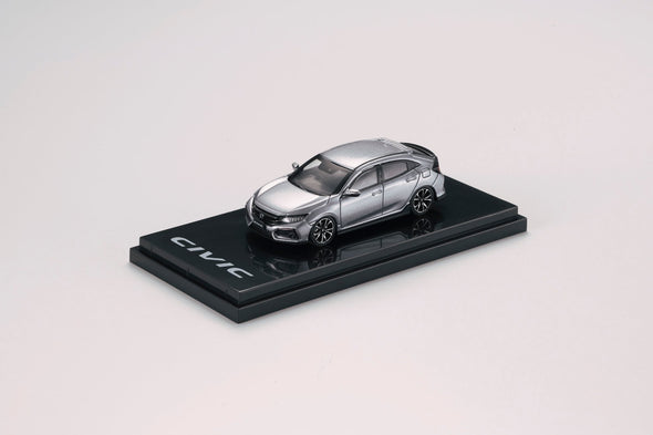 Hobby Japan 1/64 Honda CIVIC HB (FK7) Silver Metallic