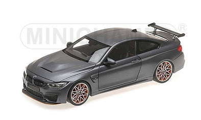 Minichamps 1/18 BMW M4 GTS - 2016 - GREY METALLIC - 110025222