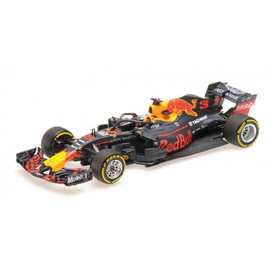 Minichamps 1/18 ASTON MARTIN RED BULL RACING TAG-HEUER RB14 - DANIEL RICCIARDO – 2018 - 110180003