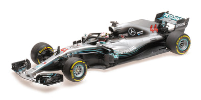 Minichamps 1/18 MERCEDES AMG PETRONAS FORMULA ONE TEAM F1 W09 EQ POWER+ – LEWIS HAMILTON – 2018 - 110180044