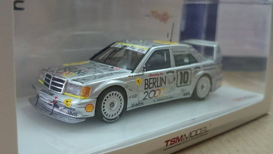 TSM Models x Tarmac Works 1/43 Mercedes-Benz AMG 190E 2.5-16 Evo II #10 1992 Macau Guia Race - B. Schneider - Macau Grand Prix Collection
