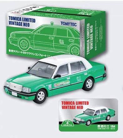 -Tomica Limited Vintage Neo 1/64 Toyota Comfort NT Taxi Green (Hong Kong Exclusive)