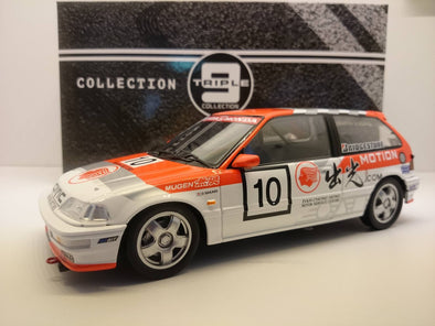 Triple 9 1/18 1990 Honda Civic EF9 Macau GP #10 *Idemitsu Motion* 中子修 Limited to 504 PCS *Die-cast, no opening parts
