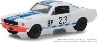 GreenLight 1/64 Ford Racing Heritage Series 2 - 1965 Shelby GT350 #23 Charlie Kemp Solid Pack  #13220-D