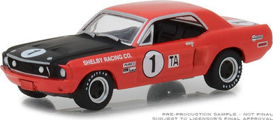GreenLight 1/64 Ford Racing Heritage Series 2 - 1968 Ford Shelby Mustang #1 Jerry Titus & Ronnie Bucknum Solid Pack #13220-F