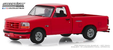 GreenLight 1/64 GL Muscle Series 22 - 1993 Ford F-150 Lightning in Bright Red #13250-E