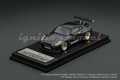 *Limit to 1 units per Customer/ Address* Ignition Models 1/64 PANDEM R35 GT-R Gun Metallic (BB-Wheel) - IG1397