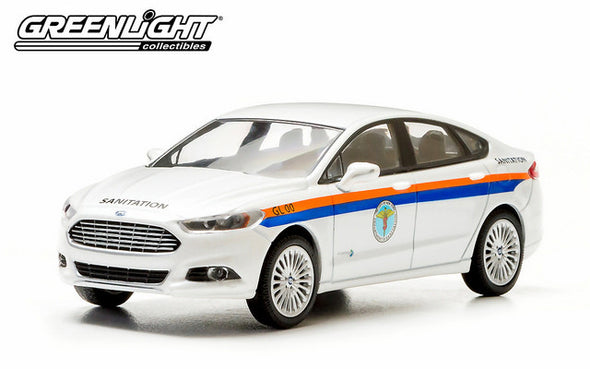 GreenLight 1/43 2013 Ford Fusion The City of New York Department of Sanitation (DSNY)  #86053