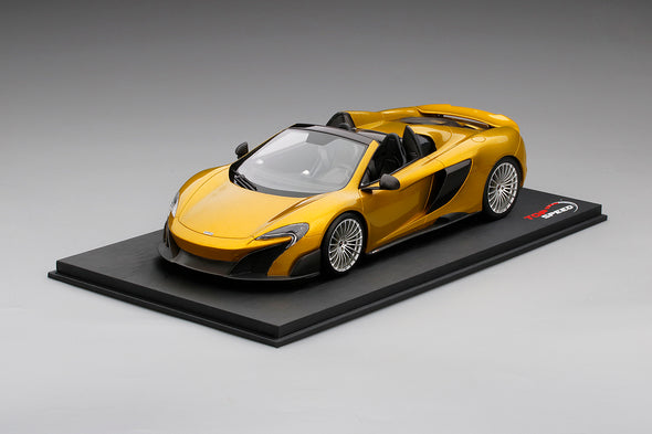 Top Speed 1/18 McLaren 675LT Spider Solis - TS0071