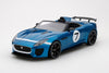 Top Speed 1/18 Jaguar F-TYPE Project 7 Concept Ecurie Blue - TS0035