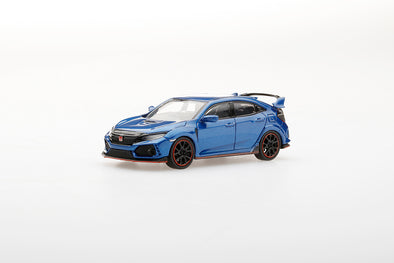 TSM Mini GT 1/64 Honda Civic Type R (FK8) Aegean Blue Metallic - MGT00002-R