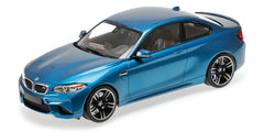 Minichamps 1/18 BMW M2 COUPÉ - 2016 - BLUE METALLIC - 155026101