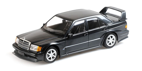 Minichamps 1/18 MERCEDES-BENZ 190E 2.5-16 EVO 2 – BLUE-BLACK METALLIC - 155036100