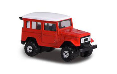 Majorette Toyota Land Cruiser (red with white roof)