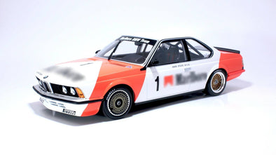 Tarmac Works x Minichamps 1/18 BMW 635CSi Gr.A #1 Han Stuck - Macau Guia Race 1984 3rd Place ( Tarmac Works Exclusive)