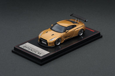 Ignition Models 1/64 PANDEM R35 GT-R Gold - IG1744