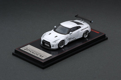 Ignition Models 1/64 PANDEM R35 GT-R White - IG1745