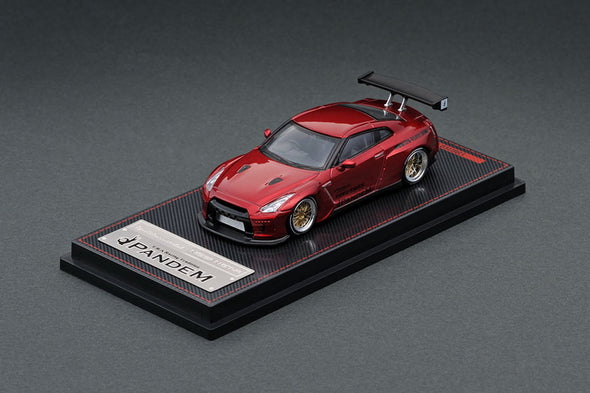 Ignition Models 1/64 PANDEM R35 GT-R Red Metallic - IG1746