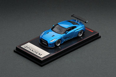 Ignition Models 1/64 PANDEM R35 GT-R Blue Metallic - IG1747