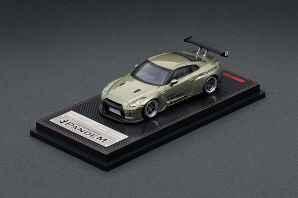 Ignition Models 1/64 PANDEM R35 GT-R Green Metallic - IG1748