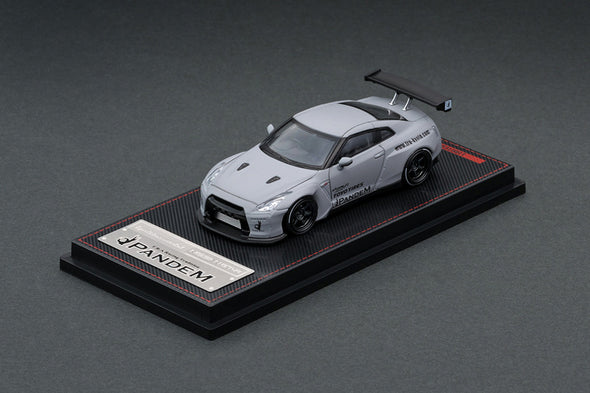 Ignition Models 1/64 PANDEM R35 GT-R Matte Gray - IG1749