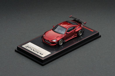 Ignition Models 1/64  PANDEM TOYOTA 86 V3 Red Metallic - IG1753