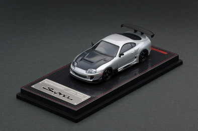 IGNITION MODELS 1/64 Toyota Supra (JZA80) RZ Silver - IG1861
