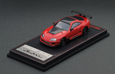 IGNITION MODELS 1/64 Toyota Supra (JZA80) RZ Red - IG1862