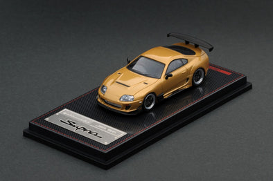 IGNITION MODELS 1/64 Toyota Supra (JZA80) RZ Gold   - IG1866