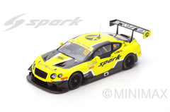 Spark 1/18 Bentley Continental GT3 n.10 5th Macau GT World Cup 2016 - Adderly Fong #18SA008