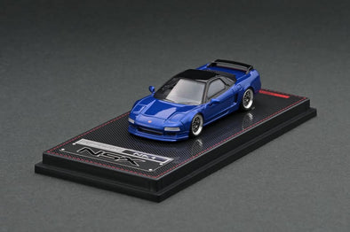 IGNITION MODELS 1/64 Honda NSX (NA1) Blue Metallic (2 tone), BBS