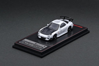 IGNITION MODELS 1/64 Mazda RX-7 (FD3S) RE Amemiya White - IG1948
