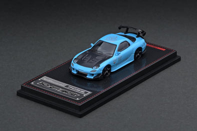 IGNITION MODELS 1/64 Mazda RX-7 (FD3S) RE Amemiya Light Blue - IG1949