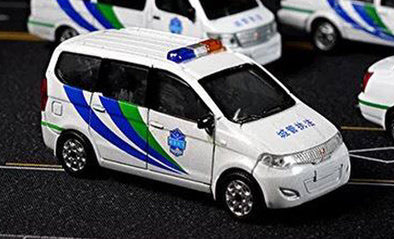 拓意 XCARTOYS No.19 1/64 die-cast model car - SGMW 五菱宏光 - China Urban Management