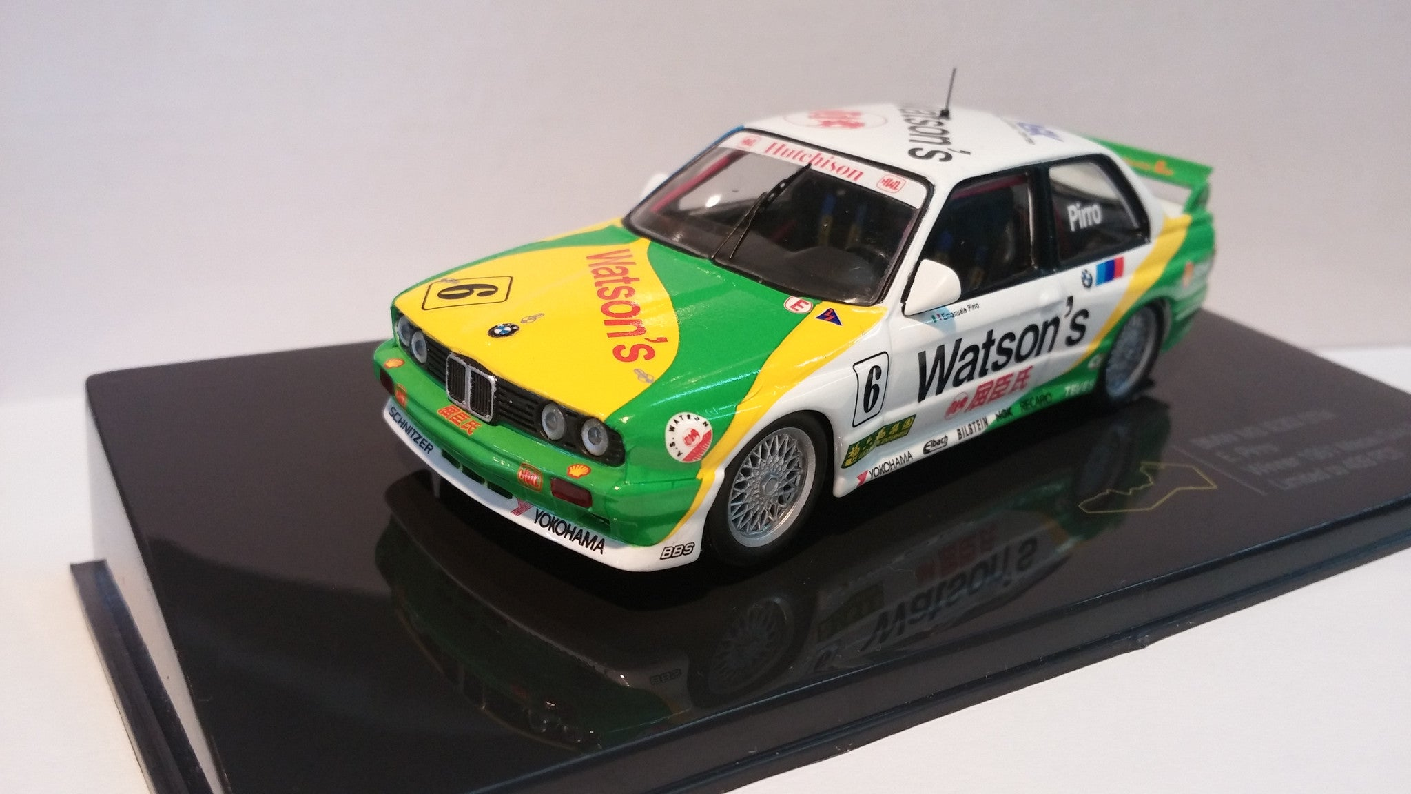 Premium X 1/43 BMW M3 (E30) DTM #6 1991 Guia Race Winner - Emanuele Pirro - MGPC002 Macau Grand Prix Collection 澳門賽車系列