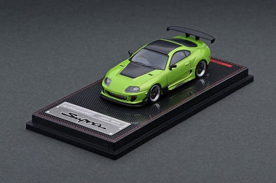 IGNITION MODELS 1/64 Toyota Supra (JZA80) RZ Green Metallic - IG2125
