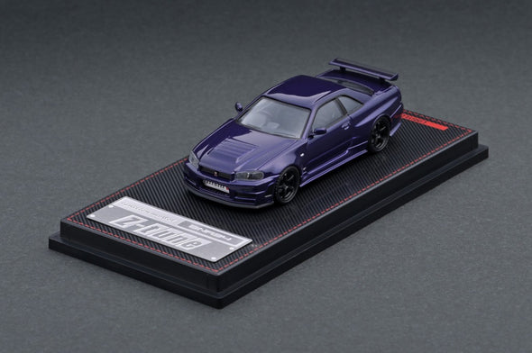 IGNITION MODELS 1/64 Nismo R34 Z-tune Purple Metallic - IG2127