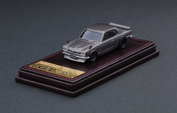 Ignition Models 1/64 RESIN - Nissan Skyline 2000 GT-R (KPGC10) Silver - IG2302