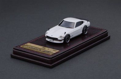 Ignition Models 1/64 RESIN - Nissan Fairlady Z (S30) White - IG2309