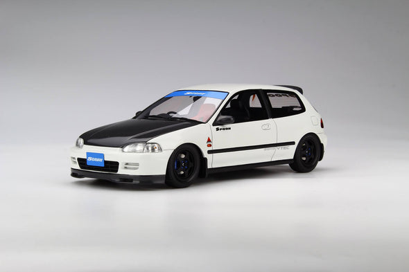 Route Twisk (Otto Mobile) 1/18 Honda Civic EG6 Spoon White - OT741