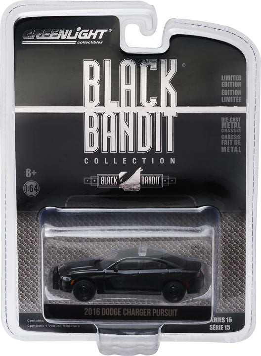 Wholesale Cars For Sale >> GreenLight 1/64 Black Bandit Series 15 - 2016 Dodge ...