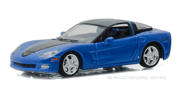 GreenLight 1/64 General Motors Collection Series 1 - 2012 Chevy Corvette C6 Solid Pack- #27870-B