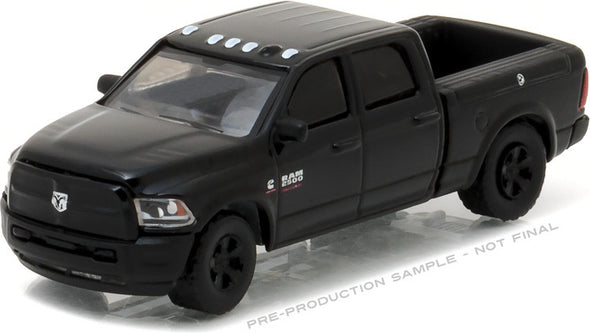 GreenLight 1/64 Black Bandit Series 17 - 2017 Ram 2500 Solid Pack - #27910-F