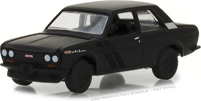 GreenLight 1/64 Black Bandit Series 19 - 1968 Datsun 510 Solid Pack - #27950-A
