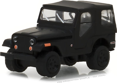 GreenLight 1/64 Black Bandit Series 19 - 1970 Jeep CJ-5 Solid Pack - #27950-D
