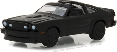 GreenLight 1/64 Black Bandit Series 19 - 1978 Ford Mustang II King Cobra Solid Pack - #27950-E