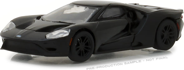 GreenLight 1/64 Black Bandit Series 19 - 2017 Ford GT Solid Pack - #27950-F