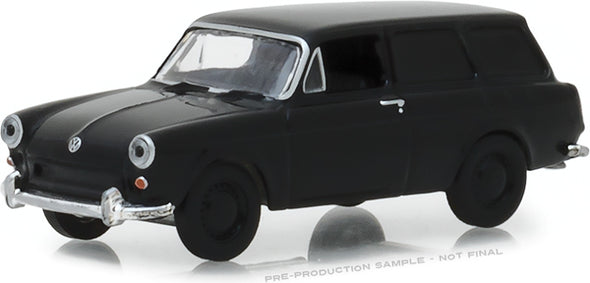 GreenLight 1/64 Black Bandit Series 20 - 1965 Volkswagen Type 3 Panel Van Solid Pack - #27960-A