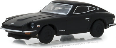 GreenLight 1/64 Black Bandit Series 20 - 1971 Datsun 240Z Solid Pack  - #27960-C